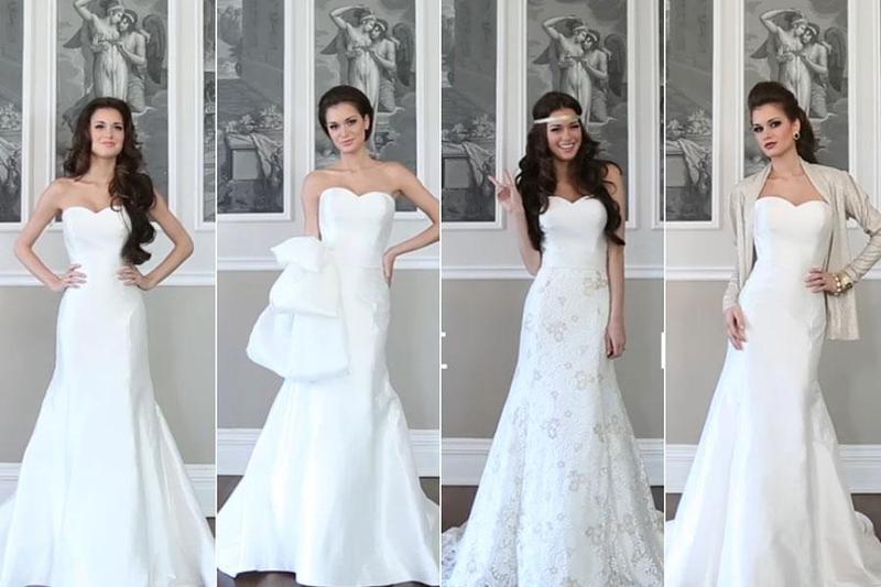 Top 5 mẫu váy cưới theo phong cách cổ điển dành cho cô dâu khi tổ chức đám cưới